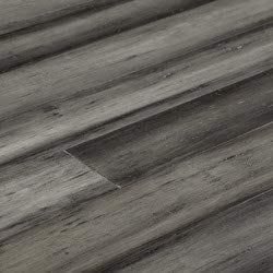 """Yanchi Antique Handscraped T&G Solid Strand Woven Bamboo Flooring-Antique Silver / 4 2/5"""""""