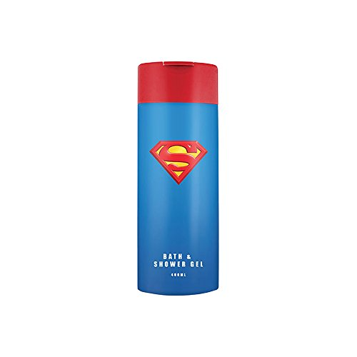 Superman Unisex, Bade Duschgel 400 ml, 2er Pack (2 x 400 ml)