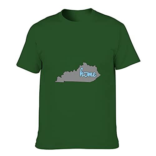 Camiseta de algodón para hombre, diseño de mapa de la novedad, divertida, agradable al tacto, estilo USA