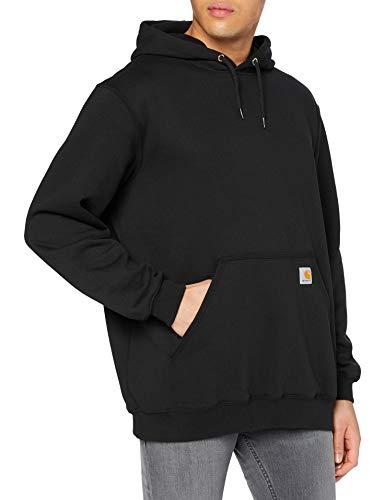 Carhartt Workwear Kapuzenpullover Hoodie Original Fit, L, schwarz, K121BLK
