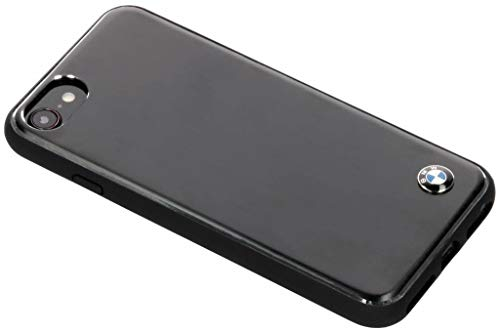 CG Mobile BMW Soft Case–Brushed Alluminio–Black–iPhone 6/7/8–New Packaging