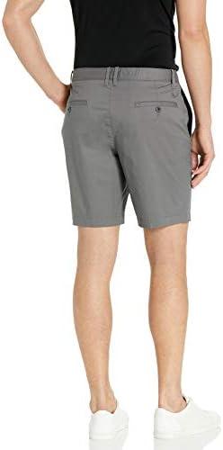 Original Penguin Mens 8 Inseam Basic Short with Stretch Casual Shorts