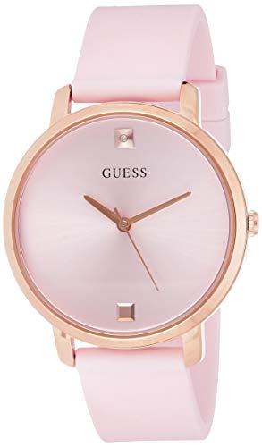 Guess nova Womens Analog Quartz Watch with Silicone Bracelet W1210L3