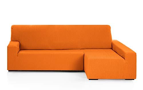 Martina Home Funda para sofa Chaise Longue modelo Emilia - Brazo derecho, color Naranja