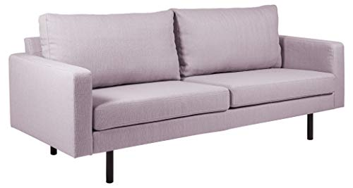 Movian Ticino - Sofá de 2,5 plazas, 88 x 210 x 88 cm (largo x ancho x alto), rosa viejo