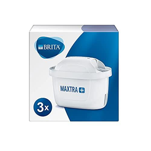 Brita Maxtra, set di cartucce filtranti, colore bianco, plastica, Confezione da 3