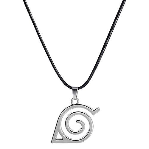 I3C Halskette Logo Tag Konoha Blatt Cosplay Pententive Zubehör