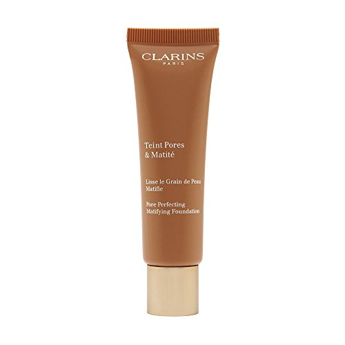 Clarins Pore Perfecting Matifying Foundation, No. 02 Nude Beige, 1 Ounce
