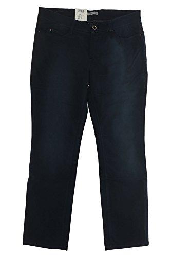 MAC Jeans Angela 0454 5273 Damen Stretch Gabardine Hose Pants, Farbe:dunkelgrün;Damengrößen:42;Hosenlängen:L32