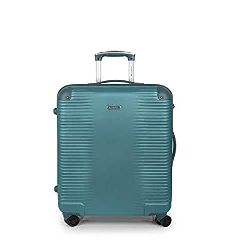 Gabol - Balance   Maletas de Viaje Medianas Rigidas de 47 x 66 x 25 cm con Capacidad para 55 L de Color Turquesa