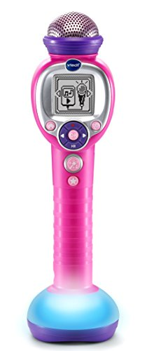 VTech Kidi Star Music Magic Microphone, Pink