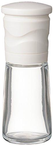 京セラ ミル 90ml セラミック スパイス 結晶塩 粗さ調節 分解洗浄 ホワイト CM-15NWH-FP