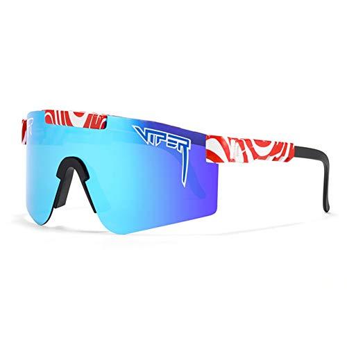 Gafas de Sol, Gafas de Ciclismo a Prueba de Viento para Mujeres y Hombres, UV400 Gafas Polarizadas para Exteriores para Béisbol, Correr, Pescar, Golf, Conducir,C21