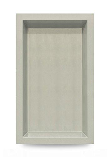 M+W Gartenflair GFK Springbrunnenbecken 6074 | Inhalt: ca. 1900 Liter | ca. 300x180x52 cm (Grau)
