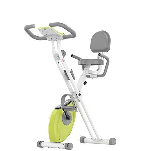DEAR-JY Bicicletas estáticas Plegables,Bicicleta magnética para el hogar Control magnético Pedal Deportivo...