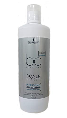 Scalp Genesis Purifying Shampoo Schwarzkopf Professional Bonacure für normales Haar 1000 ml