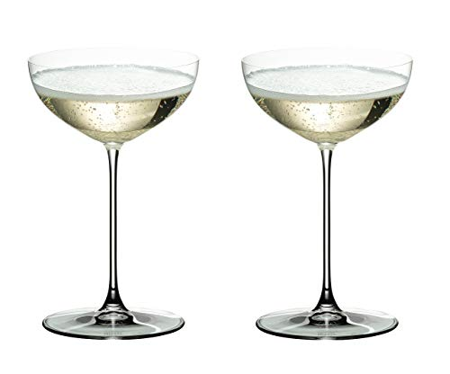 Riedel 6449/09 Veritas Coupe Glasses, Set of 2, Clear