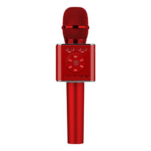 BBNB Kabelloses Karaoke-Mikrofon mit Bluetooth, tragbarer Lautsprecher,...