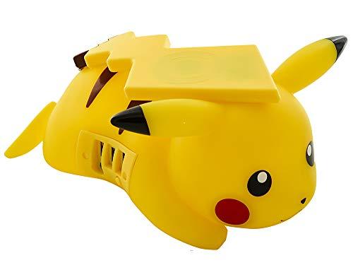 Teknofun Pokémon Pikachu 811364 Chargeur Mobile sans Fil Jaune