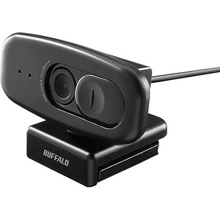 バッファロー 200万画素 WEBカメラ 広角120°マイク内蔵(ブラック) BSW500MBK