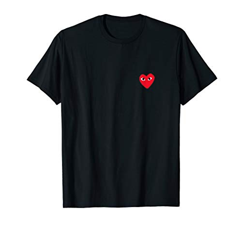 Heart Pocket T-Shirt Men Women Kids