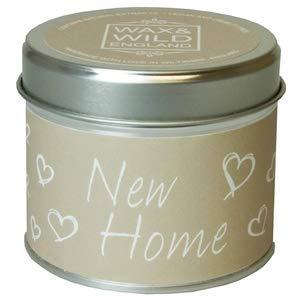 Wax en wild Engeland nieuw huis geurende Tin kaars