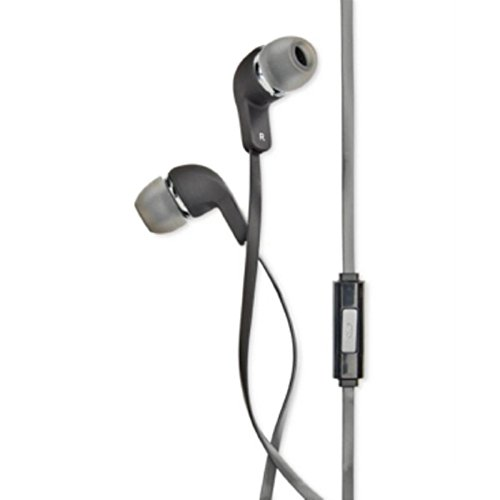 Polaroid Lightweight Wired Earbud Headphones Gray O/S