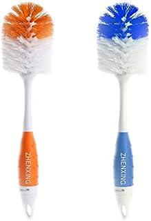 LUZAISHENG Household Cleaning Tools 2 in 1 Bottle Brush + Pacifier Brush Cleaning Brush Baby or Children Bottle Nipple Tub...