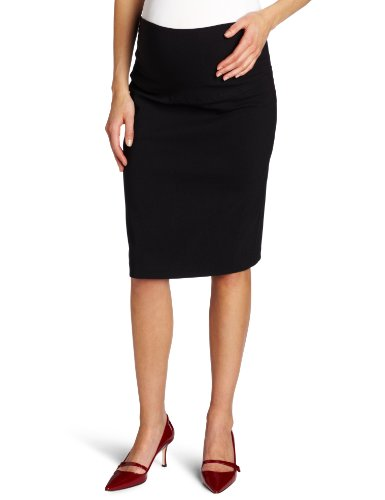 Ripe Maternity Women's Maternity Suzie Skirt, Black, Small
