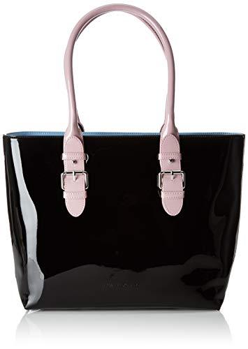 ARMANI EXCHANGE Shopping Bag - Borse Tote Donna, Multicolore (Pink/L.Blue/Black), 28x11.5x41 cm (B x H T)