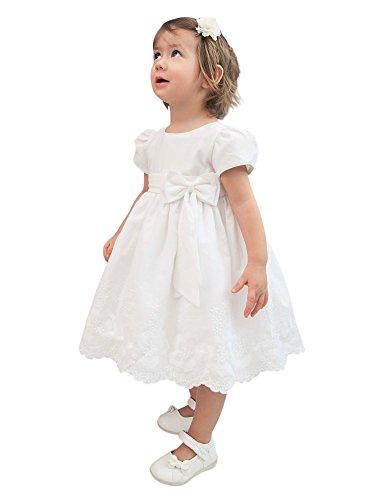 Boutique-Magique - Ropa de Bautizo - para bebé niña Blanco 18 Meses