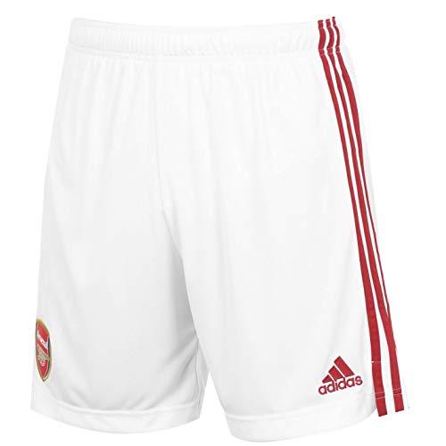 adidas Arsenal - Pantalones Cortos para Hombre, diseño del Equipo Arsenal, Hombre, EH5814, White/Actmar, Small