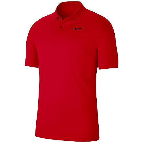 NIKE BV0354-657 Camiseta Deportiva de Polo para Hombre, University Red/Black, Talla: 2XL