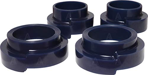 Front and Rear Coil Spring Spacers 4 pcs Polyurethane PU 40mm Lift Kit Compatible with Mercedes G Class W463 W461 G Wagon