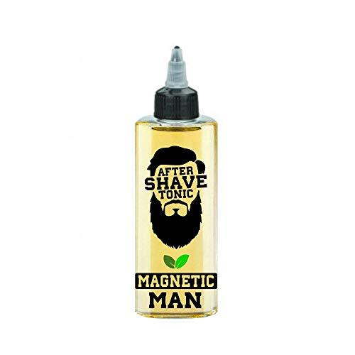 Heisenbeard After Shave Tonikum 200ml - Magneitc Man (mild/frisch) Haarwasser für die Kopfhaut - Stärkt den Bart und Haarwachstum