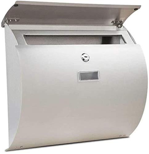 YONGYONGCHONG brievenbus buiten wandbehang letterbox postbox thick 304 roestvrij staal waterdicht lock-mailbox veiligheidsvak