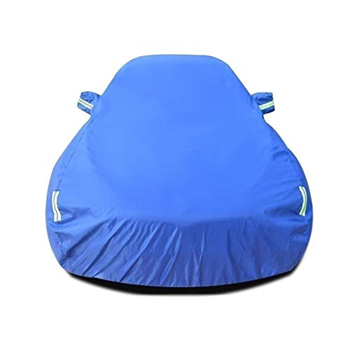 Auto-afdekzeil voor auto, compatibel met F-type Cabrio, waterdicht, met fluorescerende band, autozeil tegen sneeuw/ijs, regen/stof, UV-Oxford, scheurbestendig