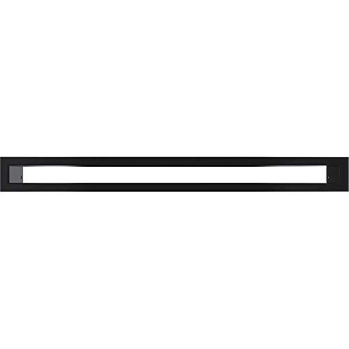 Rejilla de Tunel negras Kratki 6 cm x 60 cm