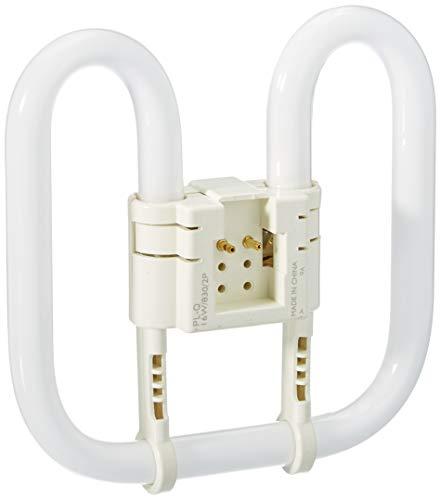 Philips PL-Q Compact Fluorescent 2 Pin Light Bulb (GR8 16W) - Warm White