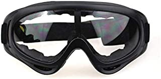 VIQILANY Safety Protective Goggles Anti-Fog Anti sand Windproof Anti Dust Resistant Transparent Glasses Working Eyewear - Black