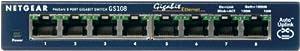 Netgear Switch 8-port 10/100/1000mbps (gs108na) -