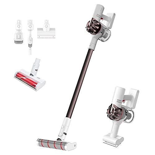 Dreame XR Escoba Sin Cable V10,3 en 1: Vertical, Escoba y de Mano,450W/22Kpa Inalámbrica Potente Succión ,100,000 RPM,Hepa Filtro Lavable, hasta 60 min,para Sofas, Hogar, Alfombra e Coche