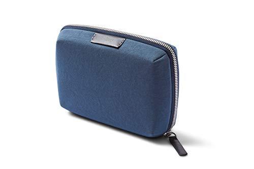 Bellroy Tech Kit Compact (caricatore, cavi, mouse, powerbank, chiavette USB, dongle) - Marine Blue