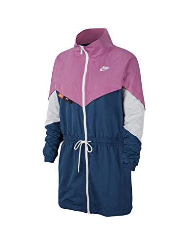 Nike Damen W NSW ICN CLSH Track JKT WVN Sport Jacket, Cosmic Fuchsia, L