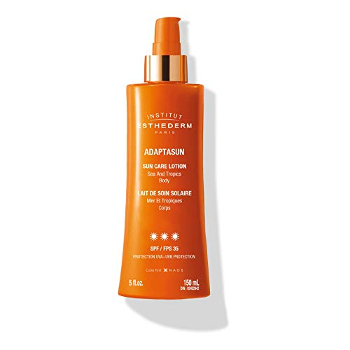 Institut Esthederm Adaptasun Protective Milky Body Spray leite solar protetor em spray de alta proteção UV 150 ml