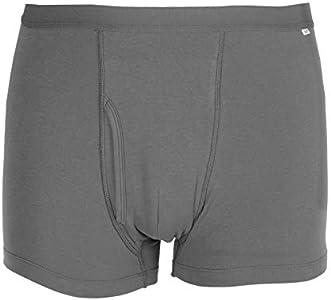 Ropa Interior de algodón para incontinencia Masculina, Surtido de absorción Regular para Hombres, incontinencia Lavable, Reutilizable, Calzoncillos Tipo Boxeador, Absorbente máximo (# 1)