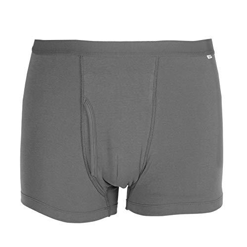 Ropa Interior de algodón para incontinencia Masculina, Surtido de absorción Regular para Hombres, incontinencia Lavable, Reutilizable, Calzoncillos Tipo Boxeador, Absorbente máximo (# 1) ✅