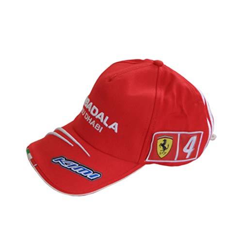 Puma Ferrari Scuderia Marlboro Gorra Sombrero Kimi Raikkonen Fórmula 1 One Mubadala Abu Dhabi Team Issue Talla única