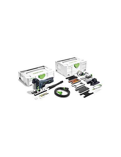 AKTION: Festool Pendelstichsäge PS 420 EBQ-Set CARVEX - 576620 + gratis 25-teiliges Stichsägeblattsortiment