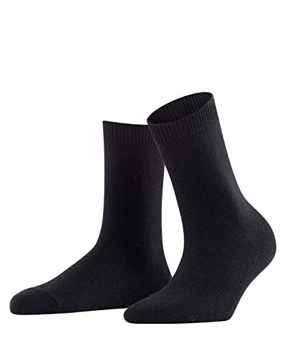 FALKE Damen Socken, Cosy Wool W SO-47548, Schwarz (Black 3009), 39-42